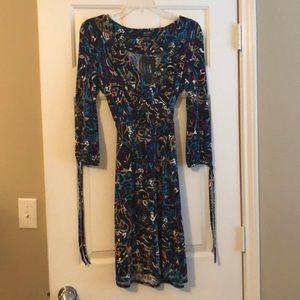 Nicole Miller 3/4 sleeve dress, NWT